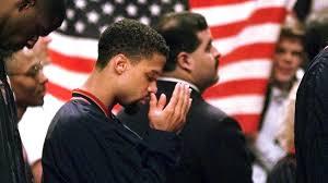 Mahmoud Abdul-Rauf twenty years ago. Mahmoud Abdul-Rauf TODAY before h...