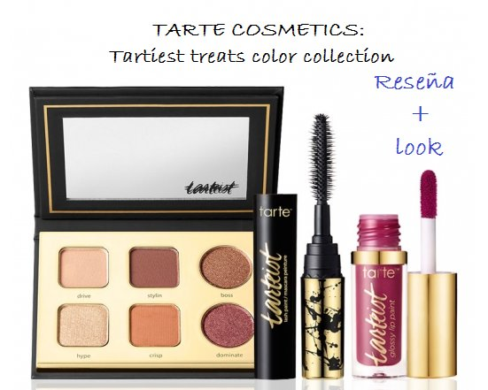 TARTE: Tartiest treats color collection: Review + Look