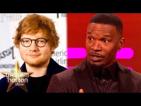 #Ed #Sheeran Slept on Jamie Foxx's #Couch for SIX WEEKS! | The #Graham Norton #Show  http:// sharewww.com/ABTfY  &nbsp;  <br>http://pic.twitter.com/sWTryhoef9