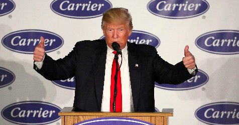 Carrier workers facing layoffs feel betrayed by Pres. Trump https://t.co/Jy3H8U1Kow