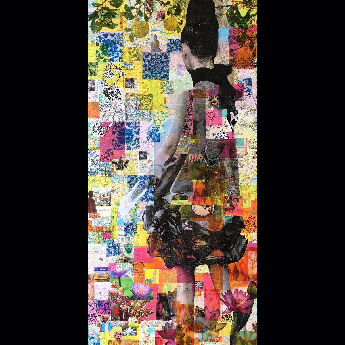 #commission #mixedmedia #art 48x24in #fashion inspired #kf4rt #Denverart #contemporaryart #newcontemporaryart #mixedmediaart &quot;Amy&#39;sAlbatross<br>http://pic.twitter.com/Y04Tl9lMGP