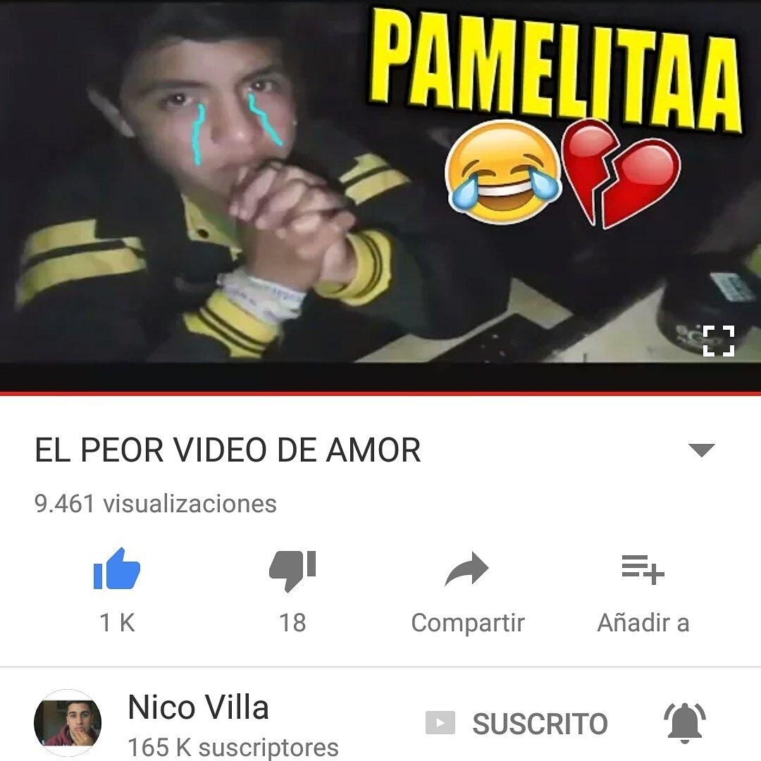 Nuevo Video de Nicoo!😂❤ Buenisimo, Vayan a Verlo😂🖒 Link👉 https://youtu.be/nY0mCBEbHHc @Esnicovilla @TeamNicoVilla