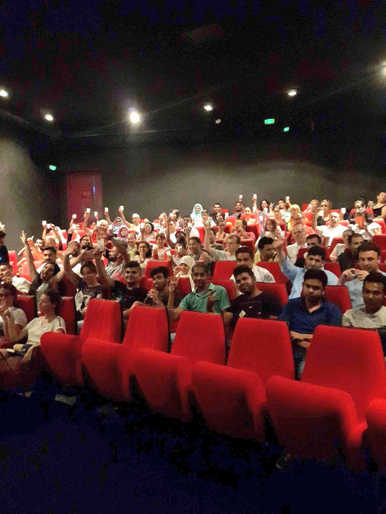 Pictures from the #Tubelight  premiere in Paris and Marseille city in #France. Audiences are loving the emotional Salman. @Bollycine<br>http://pic.twitter.com/TFfS9yjGox