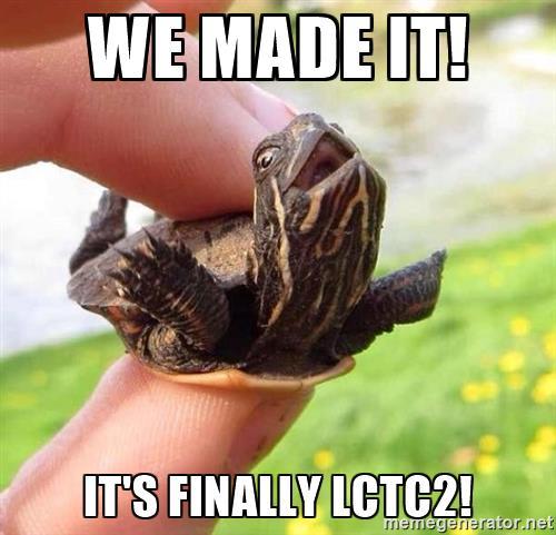 HAPPY #LCTC2 WEEK EVERYBODY! https://t.co/HzVaVjQT9K