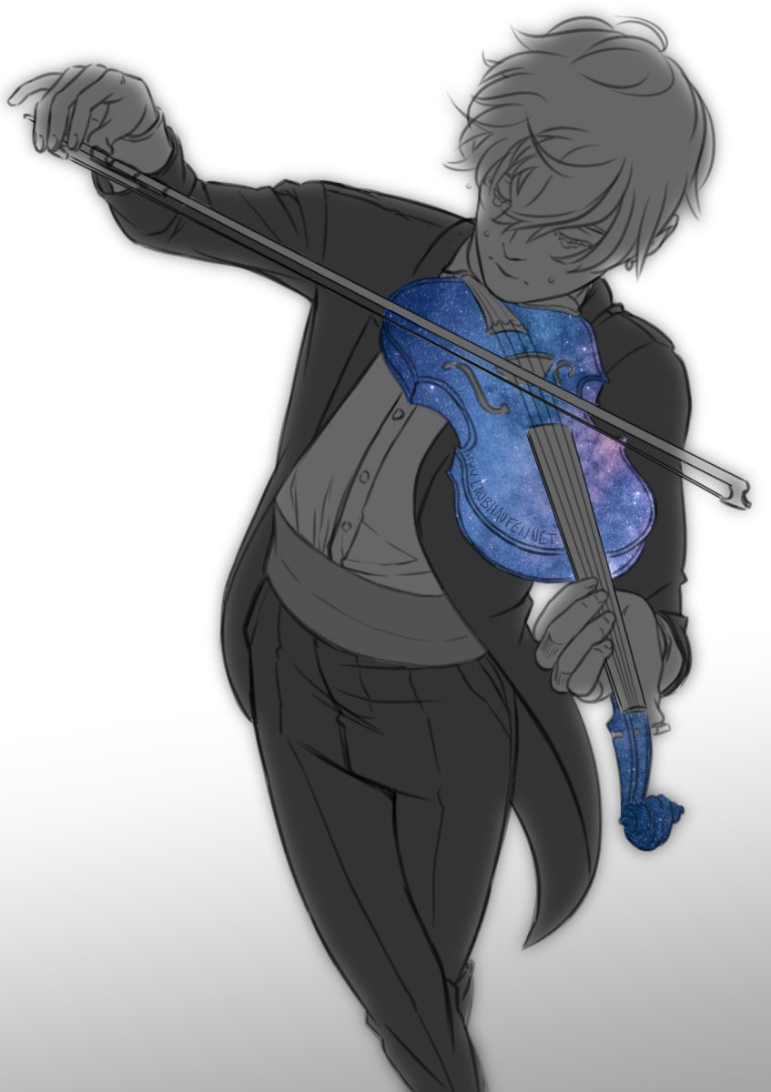 OTL I wanted to sleep... and then I got this in my head... #galaxy #orchestra #manga #ten #violin<br>http://pic.twitter.com/EHo7Tkzys0
