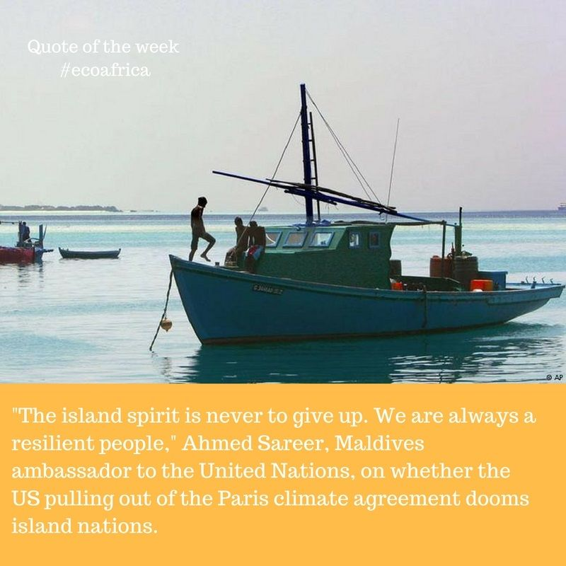 The #US pulling out of the #ParisAgreement may make fighting #climatechange more difficult, but the island states will not give up! #climate<br>http://pic.twitter.com/g7J97uX3yO