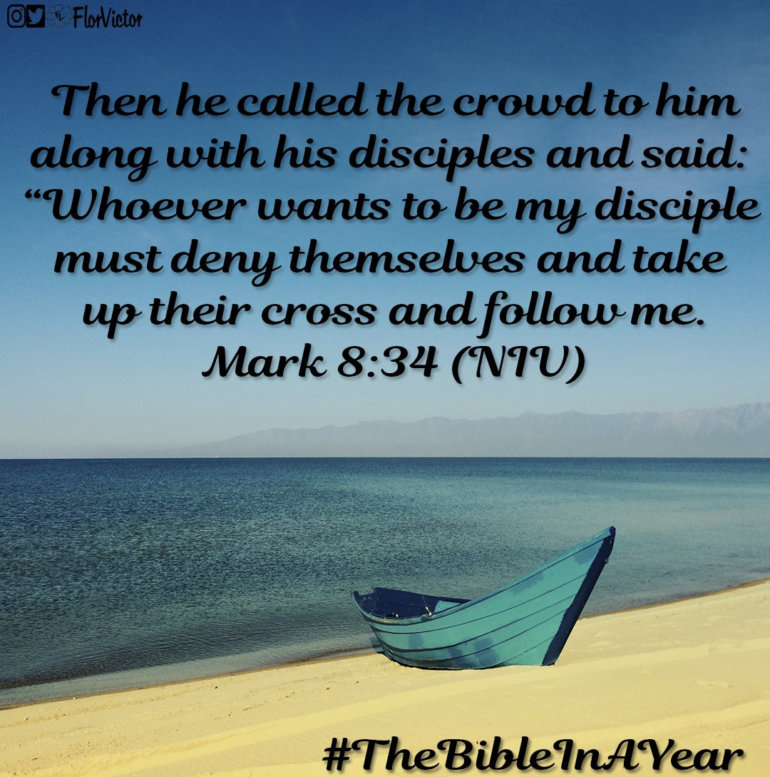 Requirements to be disciples of #Jesus: -Beginning himself -#Take your #cross -#Follow #Jesus<br>http://pic.twitter.com/RvLrTx6Mp1