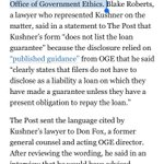 So Kushner Co got $285 mil loan from Deutsche Bank, which Kushner didn't mention in his financial disclosures.   https://t.co/dCjKLLoc87