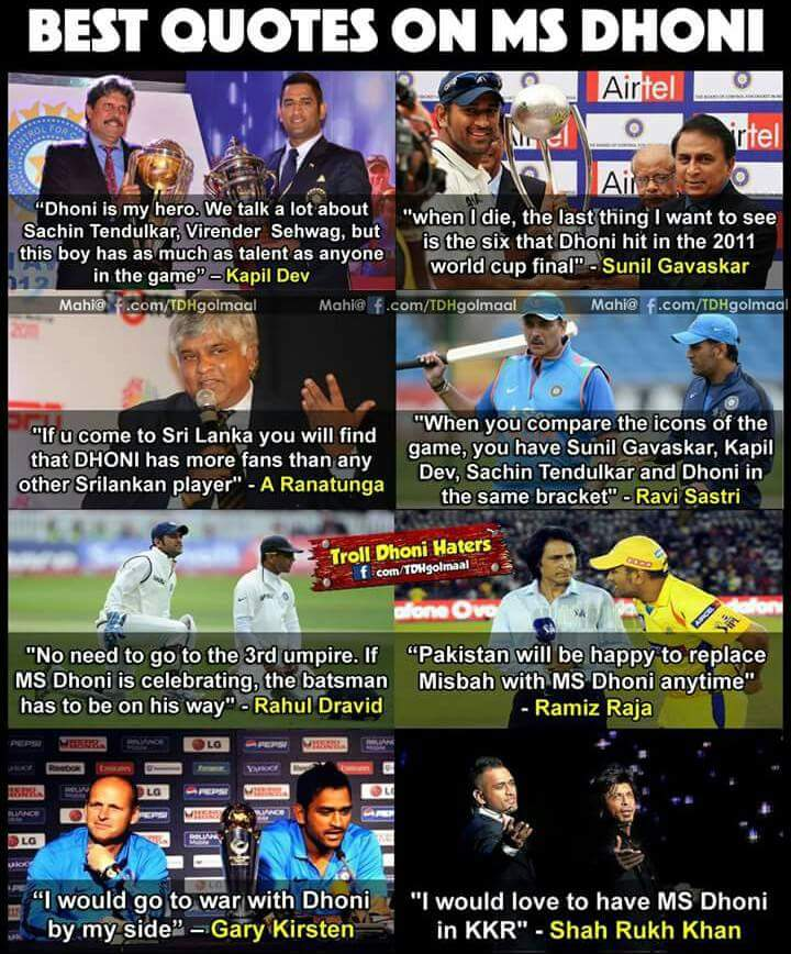When legends treat u as their #hero ... @msdhoni proud of India , proud of cricket  @therealkapildev @RaviShastriOfc @Gary_Kirsten<br>http://pic.twitter.com/gAYu6fsYpW