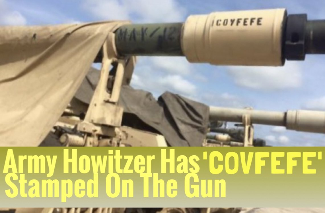 #Soldier Stamps  #Covfefe on the gun⭐️ Our #Military Loves⭐️ @POTUS 🇺🇸...