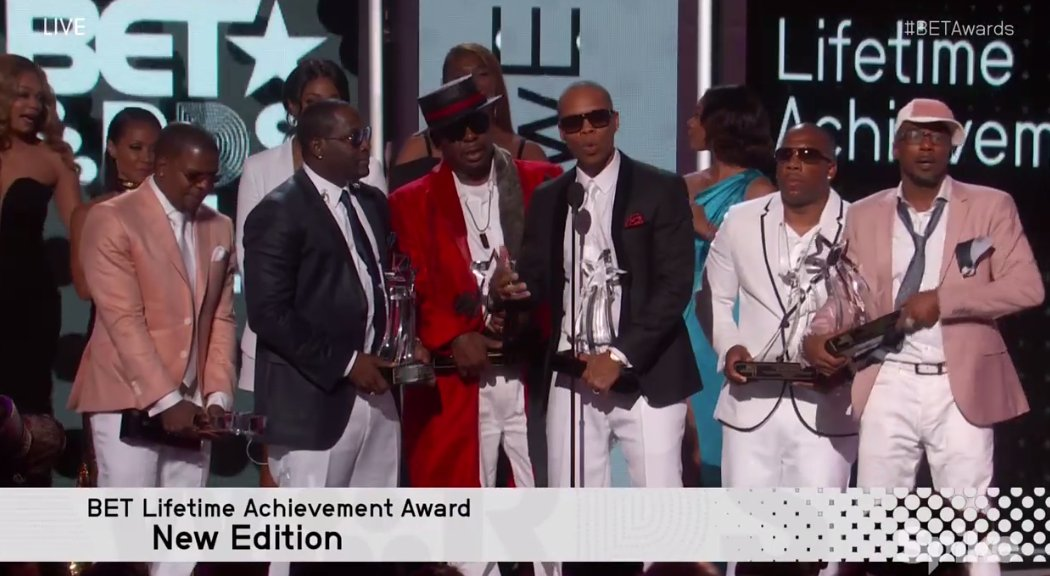 legends. don't forget to teach the babies about New Edition. #BETAwards