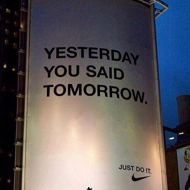 Just do it. Follow: @mental_dominance tag 3 friends. #mentaldominance . . Via: @house.of.leaders • • • • • #motiva…  http:// ift.tt/2sRjPxp  &nbsp;  <br>http://pic.twitter.com/Gza7WuW1U8
