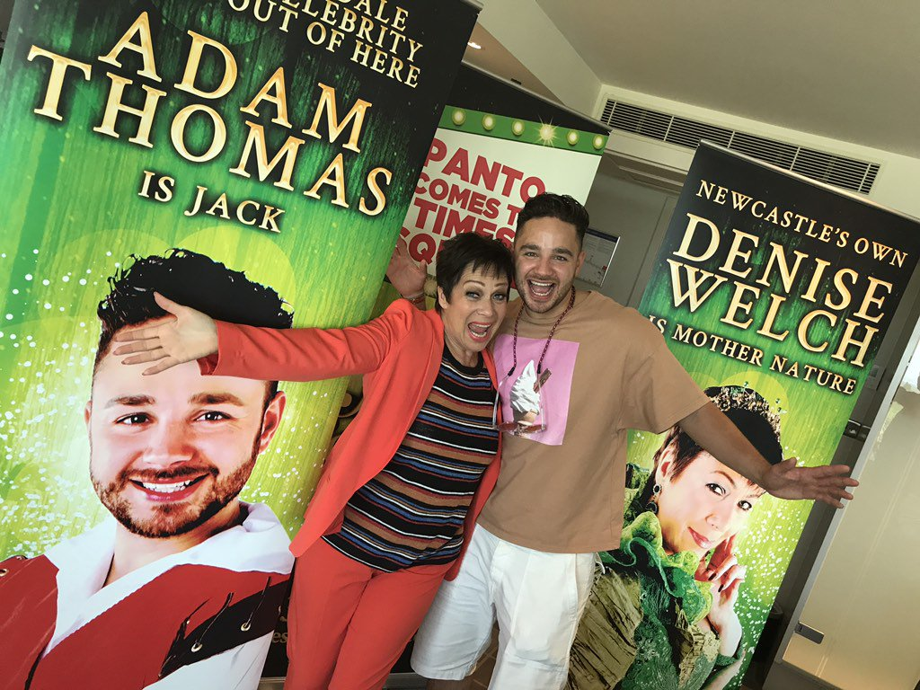 Thrilled to announce that @adamthomas21 is playing Jack with me @timessqpanto !!!! Donte and Steph reunited!! https://t.co/WdwhTaagms