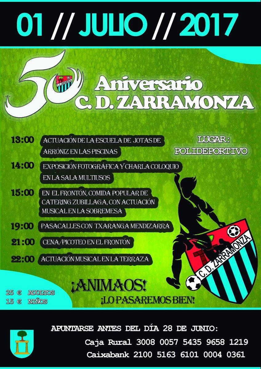 DESDE LA BANDA - FÚTBOL NAVARRO (DLB-FN): Club Deportivo Zarramonza de Arróniz.