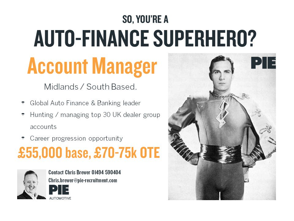 #HappyMonday We&#39;re looking for an #Automotive superhero!  If you&#39;ve got what it takes, then get in contact with the Team! #Sales #Careers<br>http://pic.twitter.com/GXJ8soQMyY