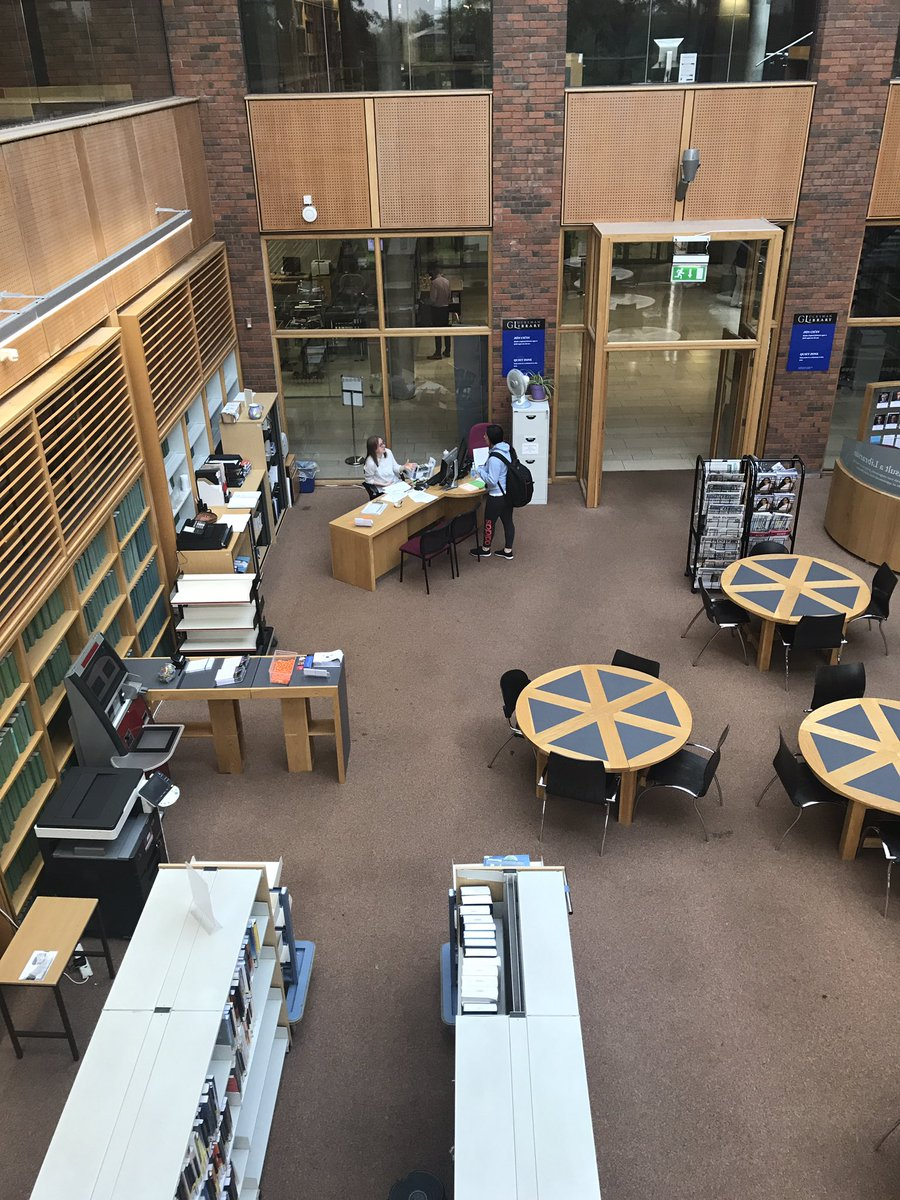 Our information desk is open for business all summer. A new location but same great service #StudyatUL #ULLibrary<br>http://pic.twitter.com/rlBor4ksaQ