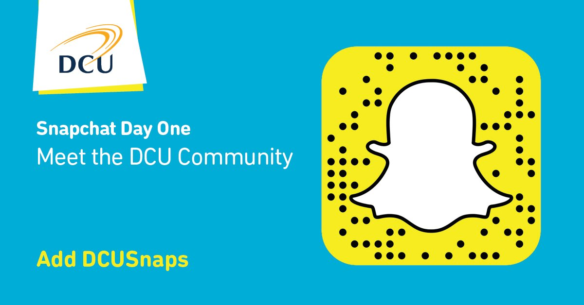 It&#39;s #cao @snapchat week!  Today:'Meet the DCU Community&#39; Meet our people and see our campus! Follow DCUSnaps #LeavingCert  #leavingcert2017<br>http://pic.twitter.com/yET0naH08N