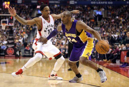 DeMar DeRozan, droit dans les bottes de Kobe Bryant https://t.co/dgsV0...