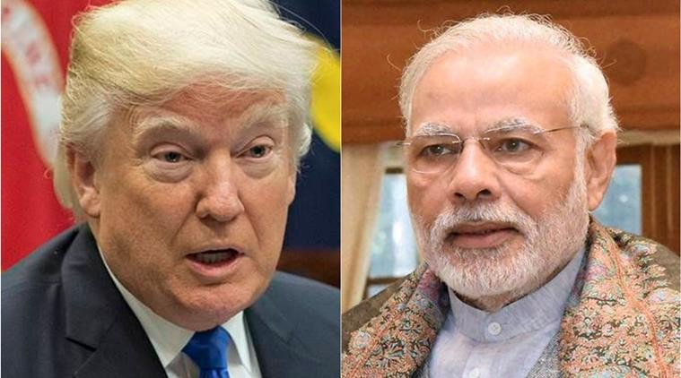 @PMOIndia @narendramodi  &amp; his #TrumpCard: Talks on #Trade &amp; #Terror today with #US #President: #Pakistan in tension<br>http://pic.twitter.com/KNxcC1linu