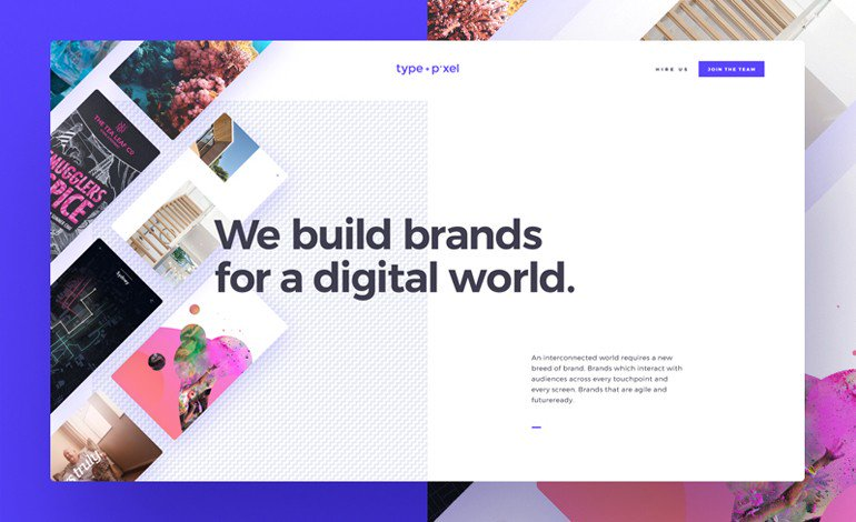 #Featured of the 26 Jun 2017 Type and Pixel by Type + Pixel  http://www. csslight.com/website/20244/ Type-and-Pixel &nbsp; … <br>http://pic.twitter.com/MZTpTpCm07