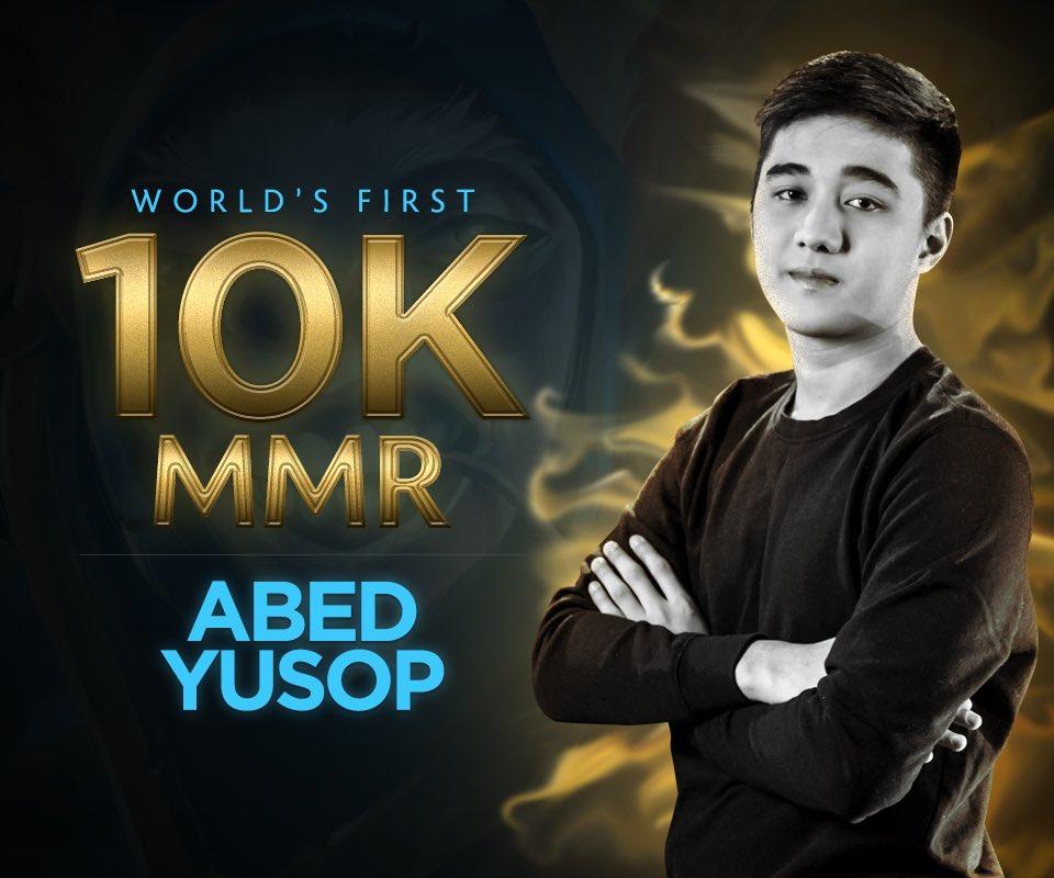 Abed -- World's First 10K MMR. Congrats.