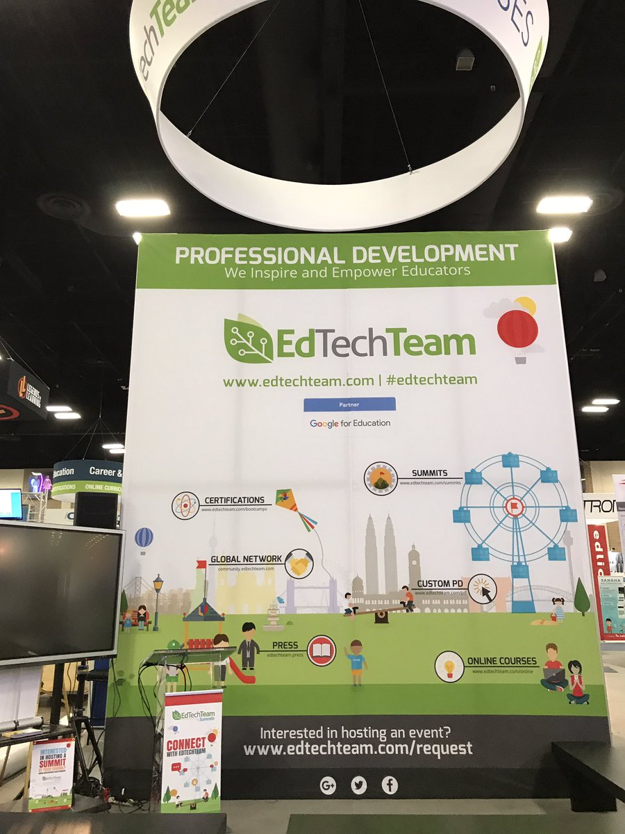 @edtechteam is ready for #ISTE17 Come hang with us at booth 2538 for #sessions #bingo #giveaways #texasPD #summerPD #edtechteam<br>http://pic.twitter.com/HR3ET10Jt0