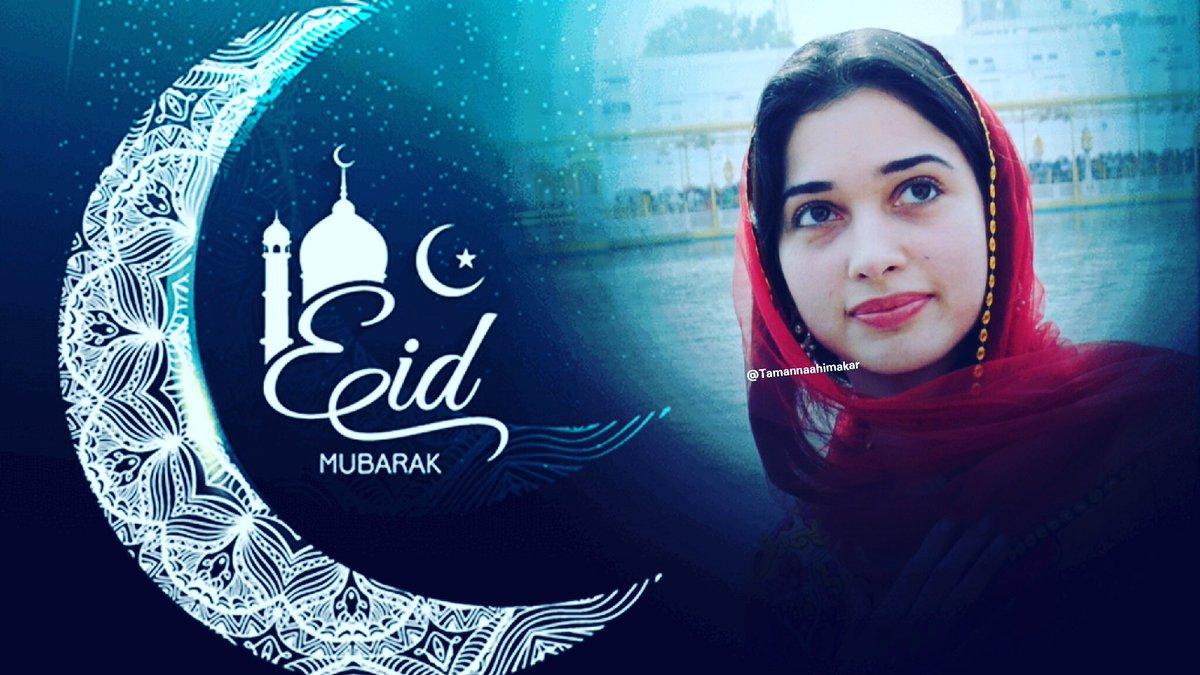 #EidMubarak  #Everyone .May it be a #HAPPY &amp; #peaceful one.  On behalf of @tamannaahspeaks   Mam and all #Tamannaah fans  #Eid  #Ramadan<br>http://pic.twitter.com/FfUpibiZEX
