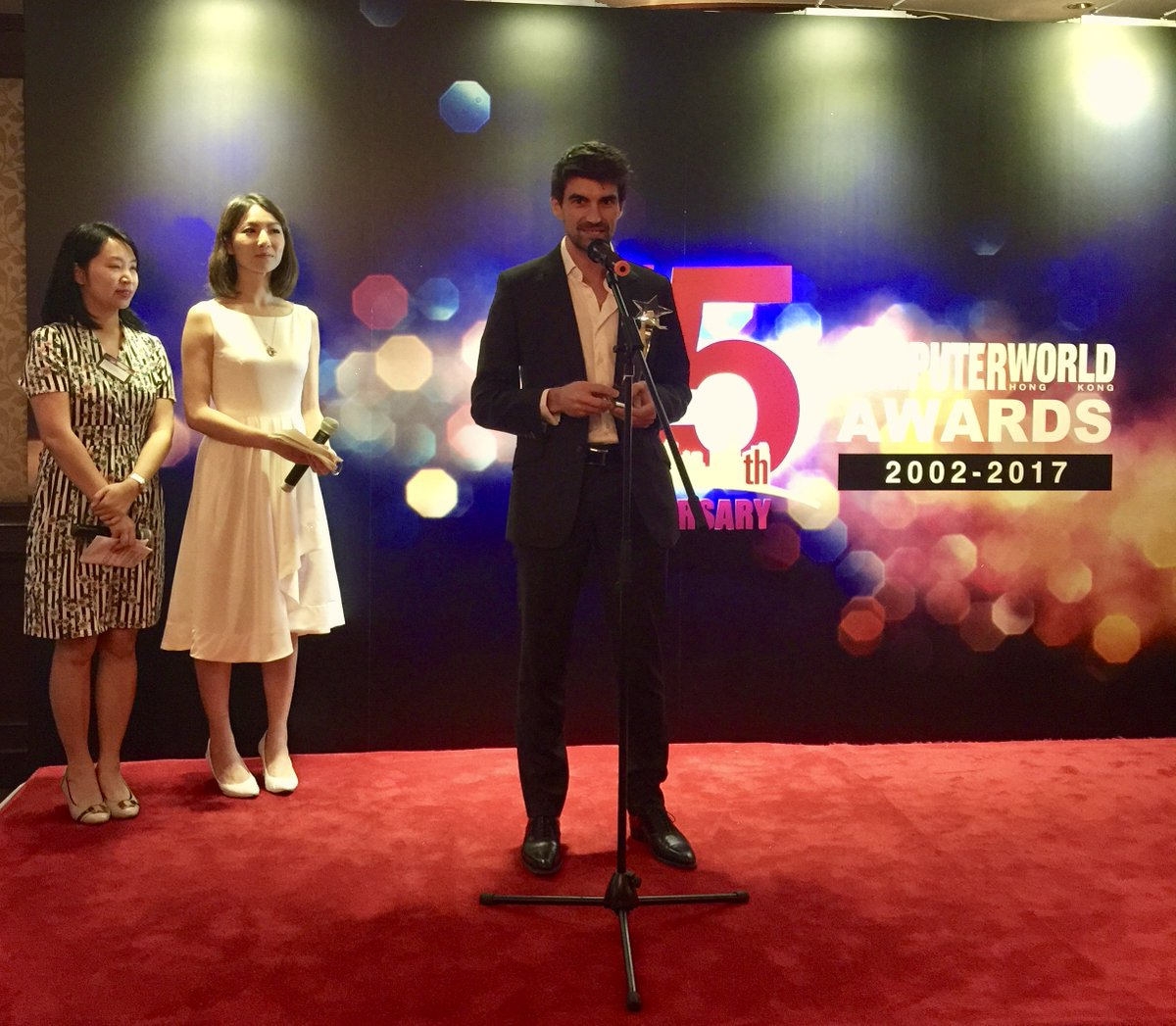 So proud to announce that we have just won Technology Company of the Year in the @computerworldhk #awards 2017! #cwhkawards <br>http://pic.twitter.com/b1nFg1mKw2