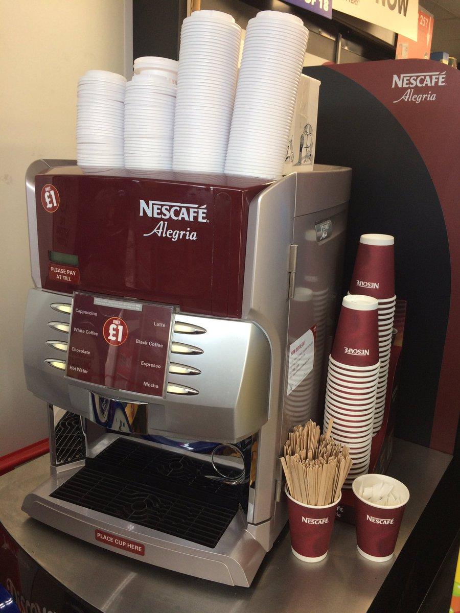 Nicely organised #Alegria #Coffee machine @onestopstores #Stratford! @NestleProDerick @NestleProUK<br>http://pic.twitter.com/bN7GrO6Vt1