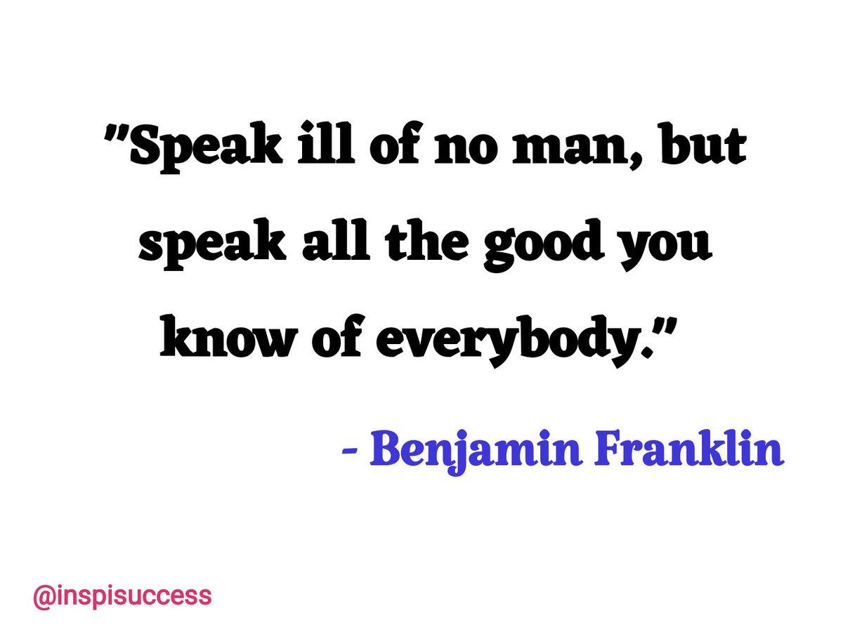 Always speak good. #Kind #mondaymotivation #quote #MakeYourOwnLane #defstar5 #quoteoftheday #quotes #motivation #inspiration #EidMubarak <br>http://pic.twitter.com/LEsx8ewbRi