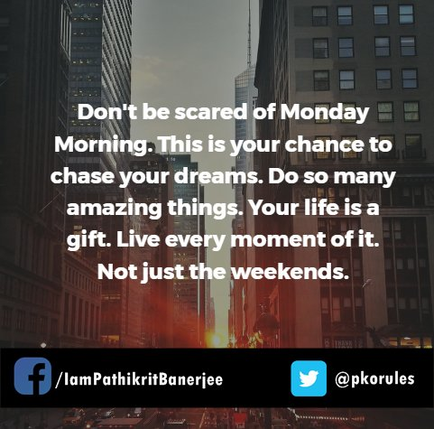 Have an amazing week everyone. #mondaymotivation #Inspiration  <br>http://pic.twitter.com/2Ljl6rHHp1