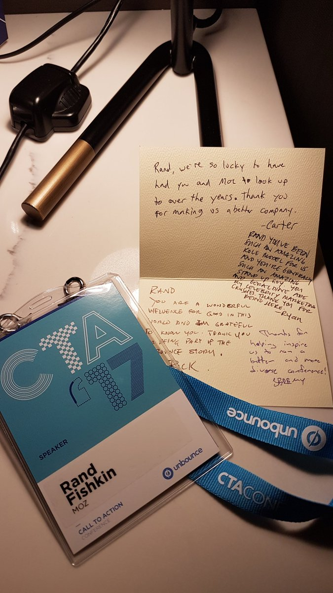 Honored to be at #CTAConf. Humbled by this kind welcome. Y'all rock. h...