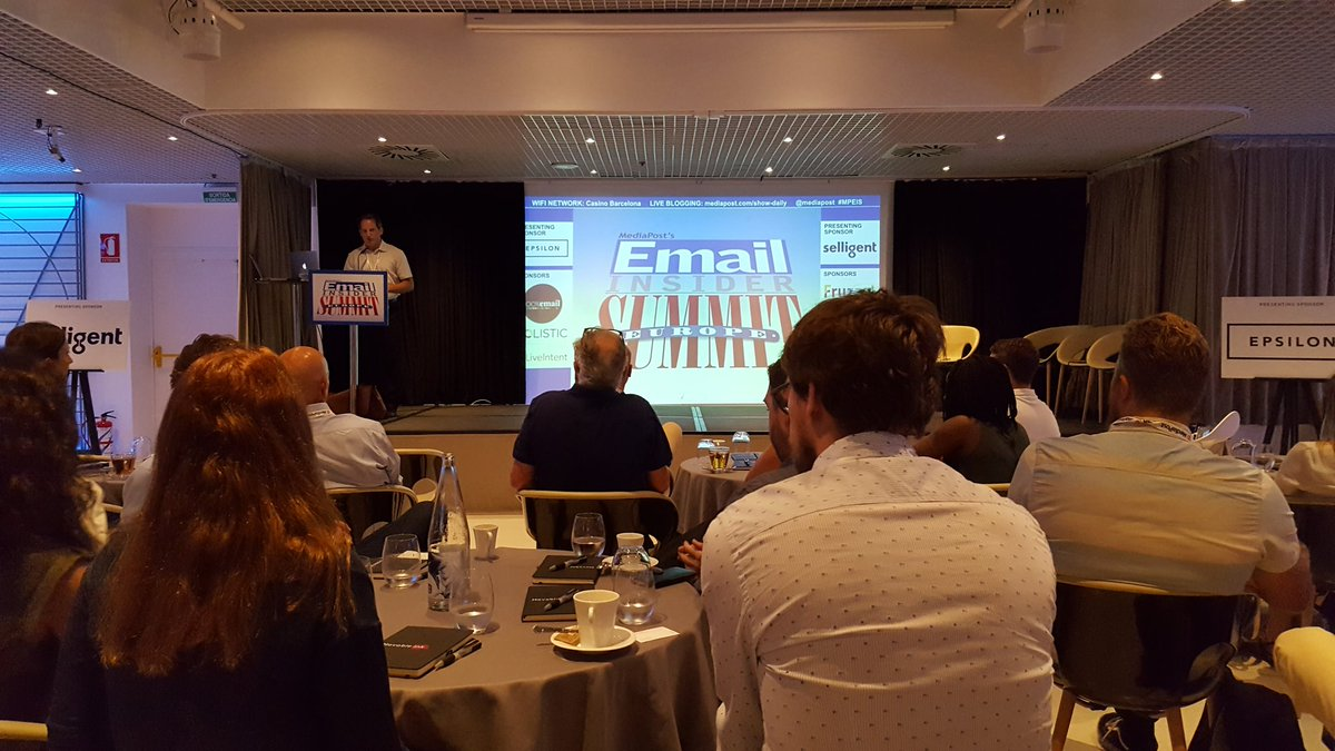 We are at day 1 of the Email Insider Summit in Barcelona. #EmailMarketing #mpeis #MarketingAutomation @Pure360<br>http://pic.twitter.com/YUwrwomteJ