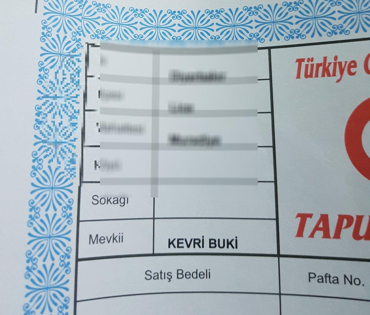 Tapu kayıtlarında bazı yerlerin adı hala Kürtçe... https://t.co/sdFqKy...