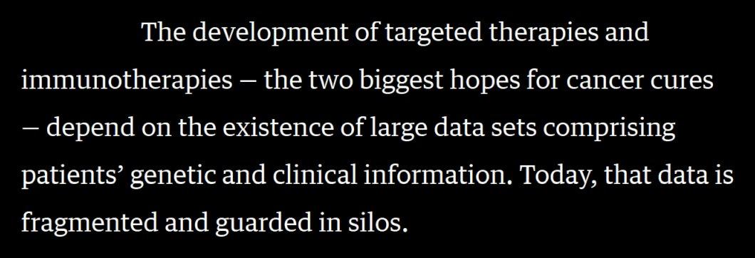 Ahead of #PETgenomic with @GenomicsEngland - https://t.co/wPS6b62oPq - read @KathyGiusti/@RHamermesh in @HarvardBiz, https://t.co/AET4va9Wu3 https://t.co/yPSIEyB9VS