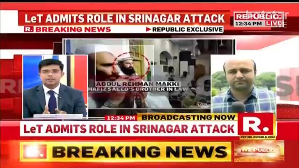 #BREAKING: Pak backed terror group LeT claims responsibility for DPS attack. Watch video on @republic. Terrorists were in touch with JuD.<br>http://pic.twitter.com/H3s7hxg5B4