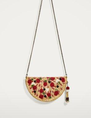 It&#39;s a pizza crossbody bag YOU GUYS! #zara <br>http://pic.twitter.com/I9BUu66802