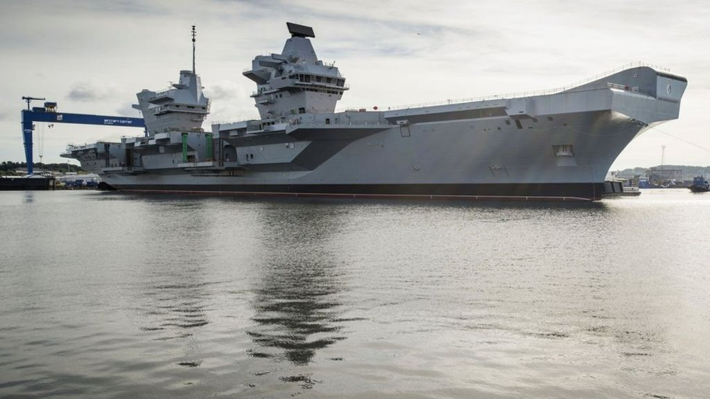 HMS Queen Elizabeth - is to begin sea trials.  #uk #unitedKingdom #greatbritain #scotland   http:// bbc.in/2sRLD56  &nbsp;  <br>http://pic.twitter.com/HYAW43FM1b
