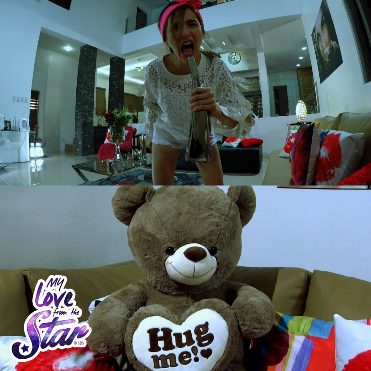 Buti na lang walang eardrums si Teddy  #MLFTSSpyCamTeddy