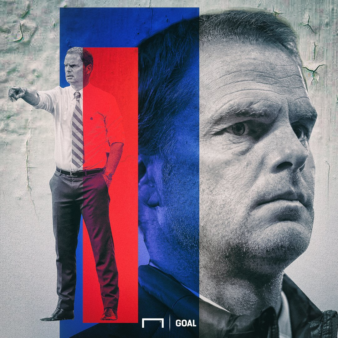 He's arrived...  Frank de Boer has been named as Crystal Palace's new...