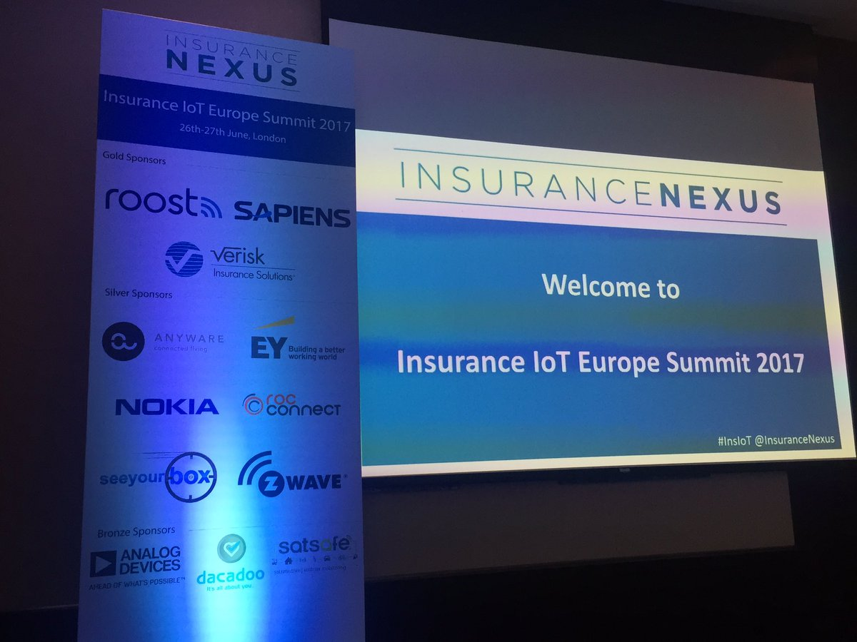It&#39;s lunch on Day 1 at #Insurance #IoT Europe! #InsIoT #bigdata #Insurtech #CustomerExperience #AI #drones #finserv #tech #IIoT<br>http://pic.twitter.com/w2baJUkx2I