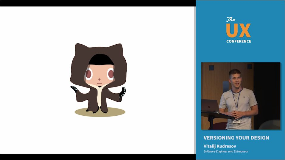 Our speaker @kudresov shows how to improve designer-developer collaboration by #versioning #design in @GitHub:  https://www. youtube.com/watch?v=UAUPEv LOq0Y &nbsp; …  #UX <br>http://pic.twitter.com/F29wjATU2N