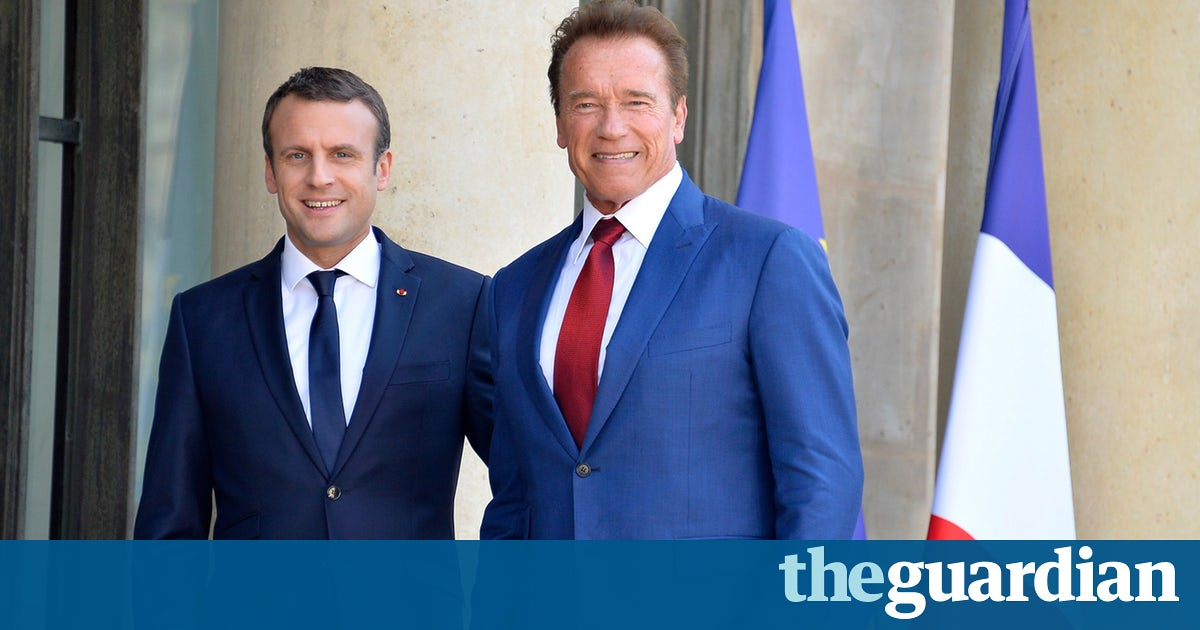 #CLIMATE #p2 RT  Macron meets Schwarzenegger and vows to stop oil and gas licences  http:// dlvr.it/PQ9Z2N  &nbsp;   #tlot #ccot<br>http://pic.twitter.com/opzss3yezZ