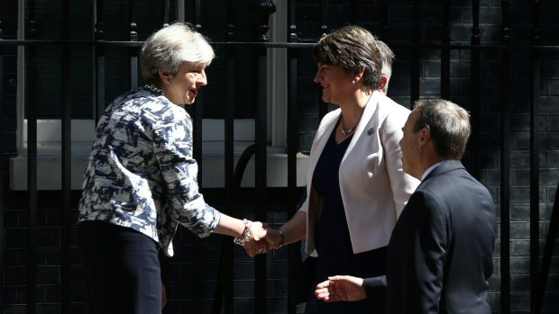 #TheresaMay's #Conservative party reaches agreement with #DemocraticUn...
