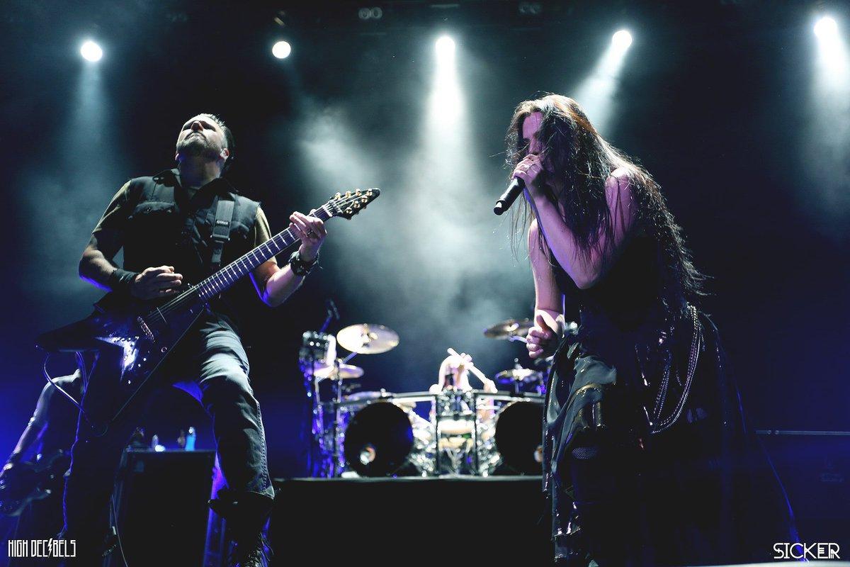 Концерт Evanescence 2017 В концертном зале Stadium Live