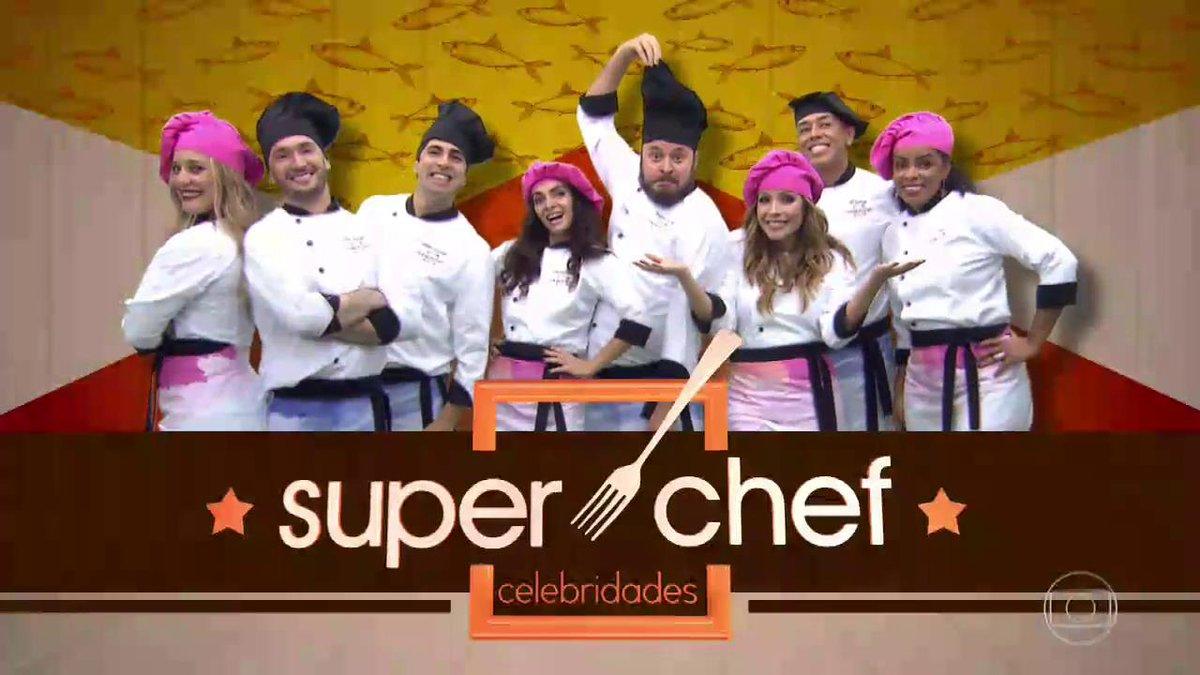 Animados eles estão. Agora o lance é cozinhar! 🍜🍕🍳🍛 #Superchef #MaisVocê