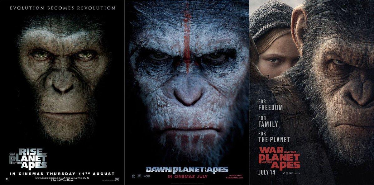 #WarforthePlanet completes the best blockbuster trilogy since The Dark...