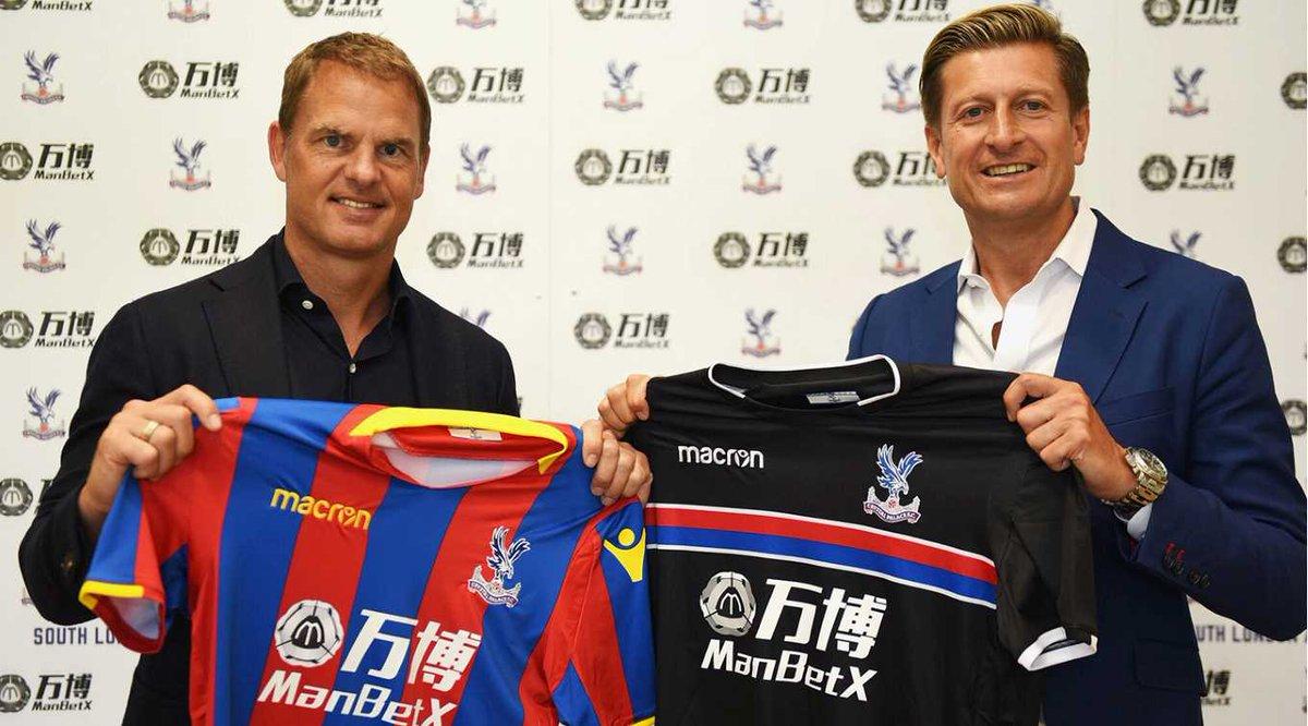 Crystal Palace'ın yeni teknik direktörü Hollandalı Franck De Boer oldu...
