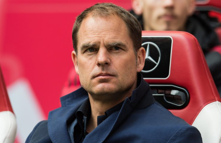 Frank de Boer has been confirmed as the new manager of Crystal Palace....