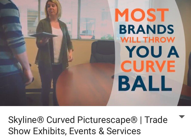 Real Displays Have Curves #tradeshow #tradeshows #booth #boothdisplay #business #conference #graphics #logos  https:// m.youtube.com/watch?v=O0mx71 wnKsY &nbsp; … <br>http://pic.twitter.com/mXSqCzk0Pa